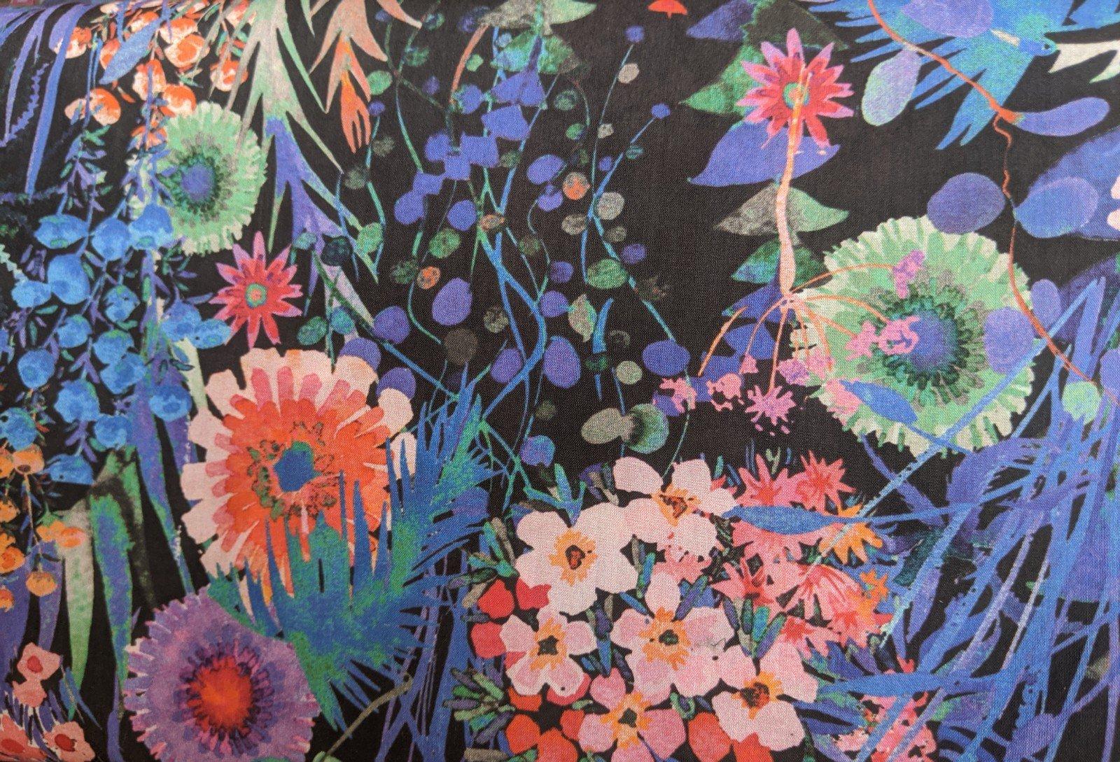 Liberty of London Cotton Lawn - Flower Garden Cool