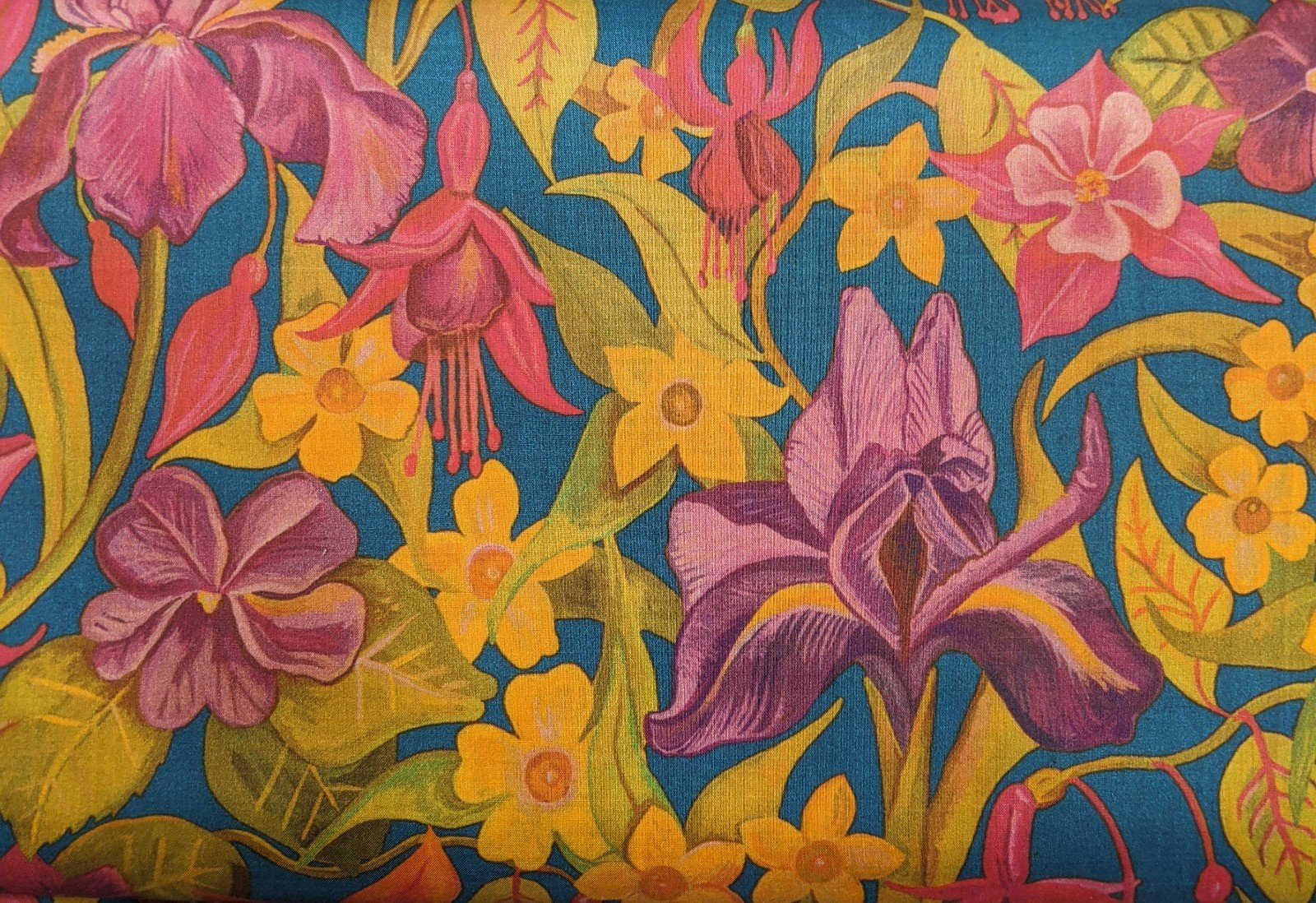 Liberty of London Cotton Lawn - Iris Garden