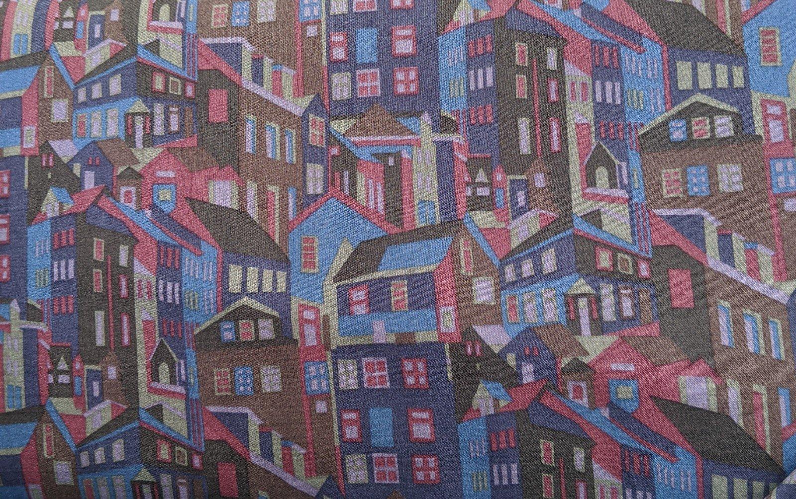 Liberty of London Cotton Lawn - Houses
