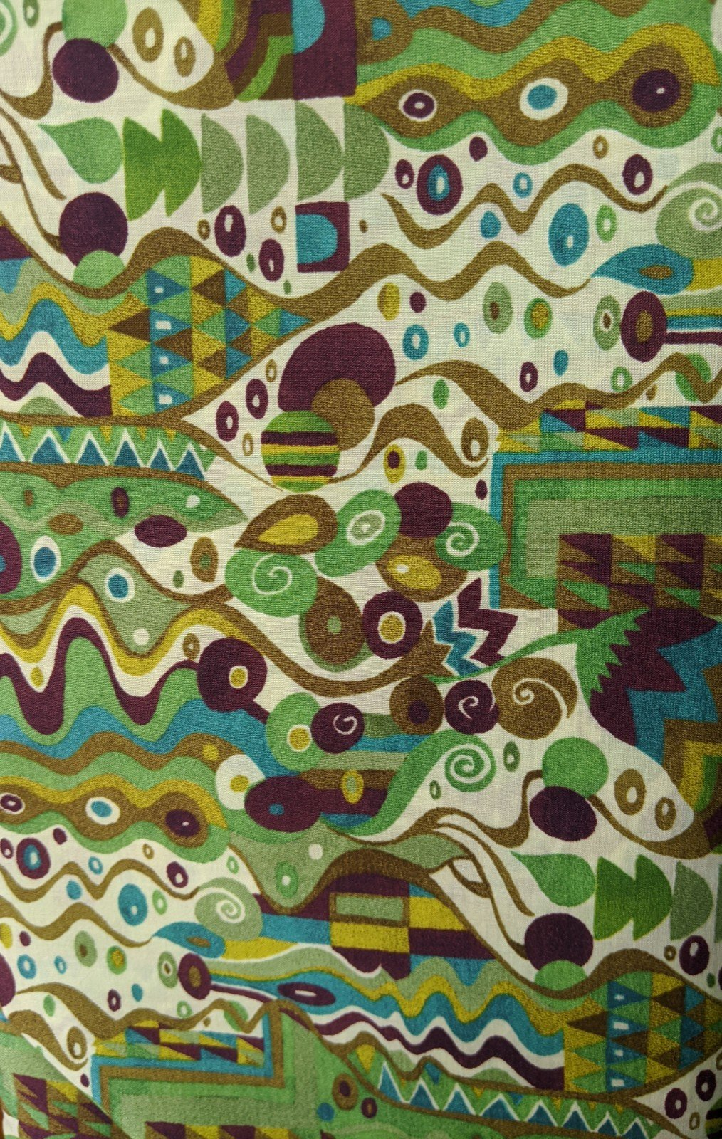 Liberty of London Cotton Lawn - Abstract Green