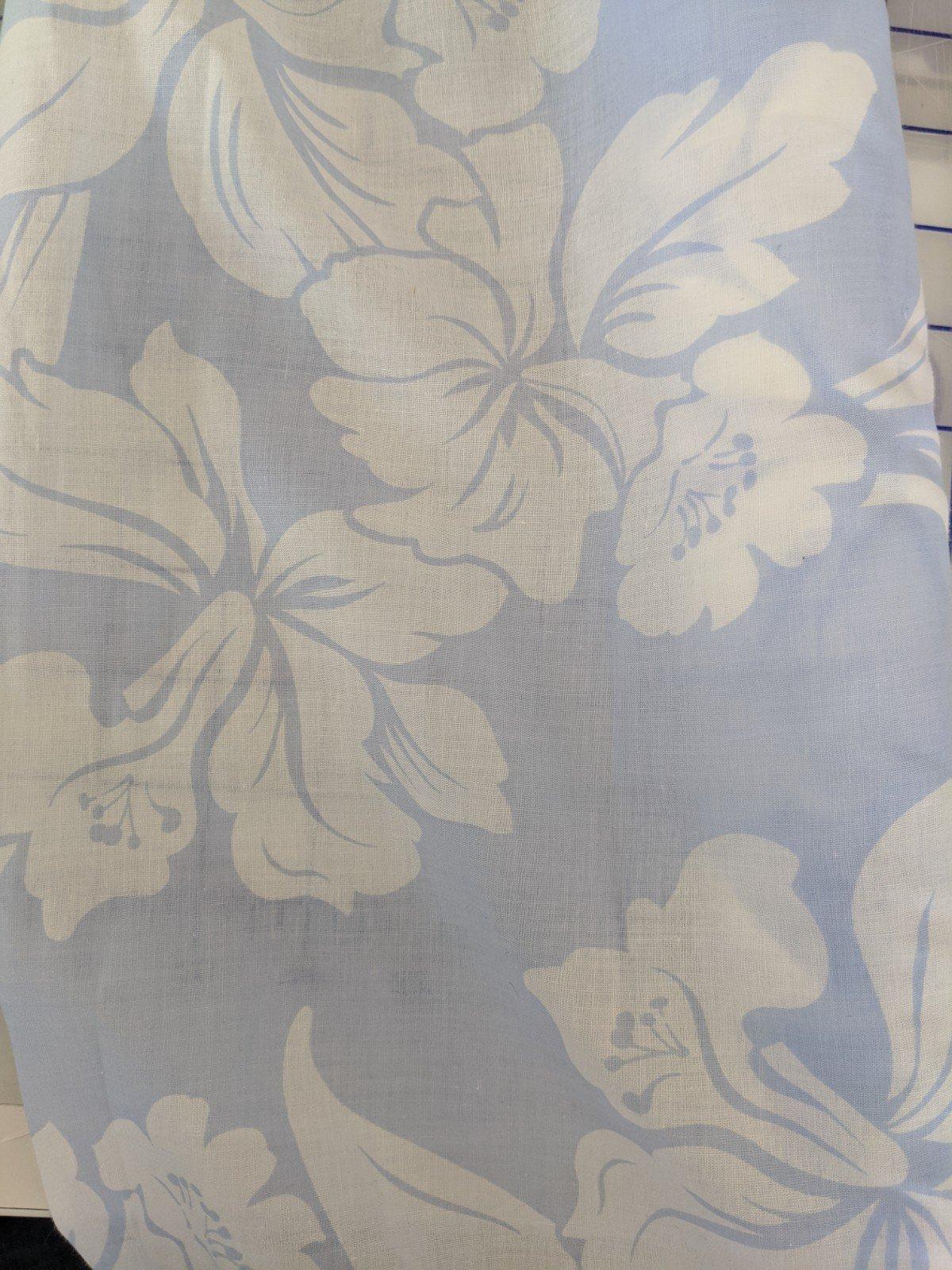 Cotton Voile - Hibiscus Print (Multiple Colors)