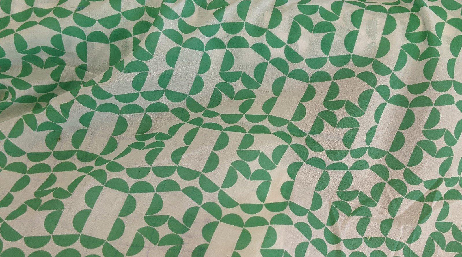 Cotton Voile - Half Circle Pattern