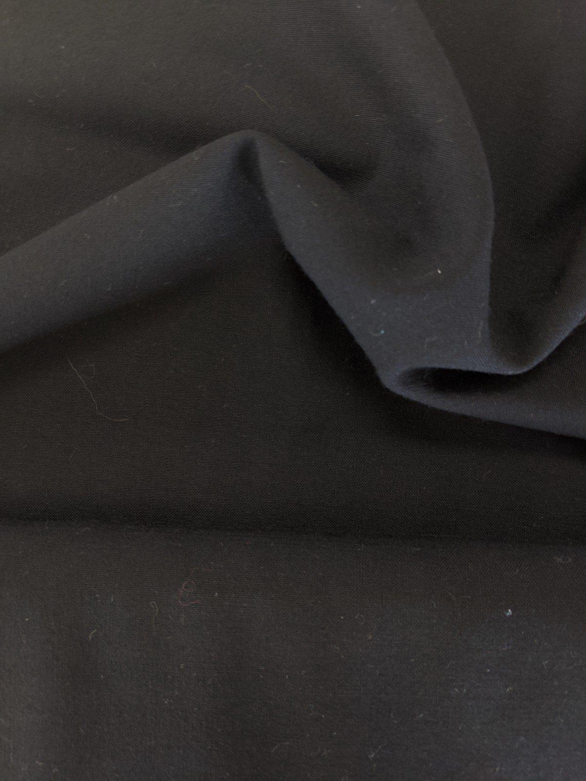 Wool Lycra - Black