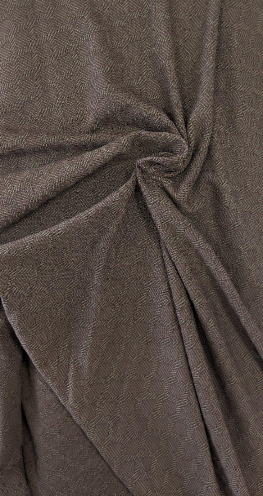 Honeycomb Jacqaurd Knit