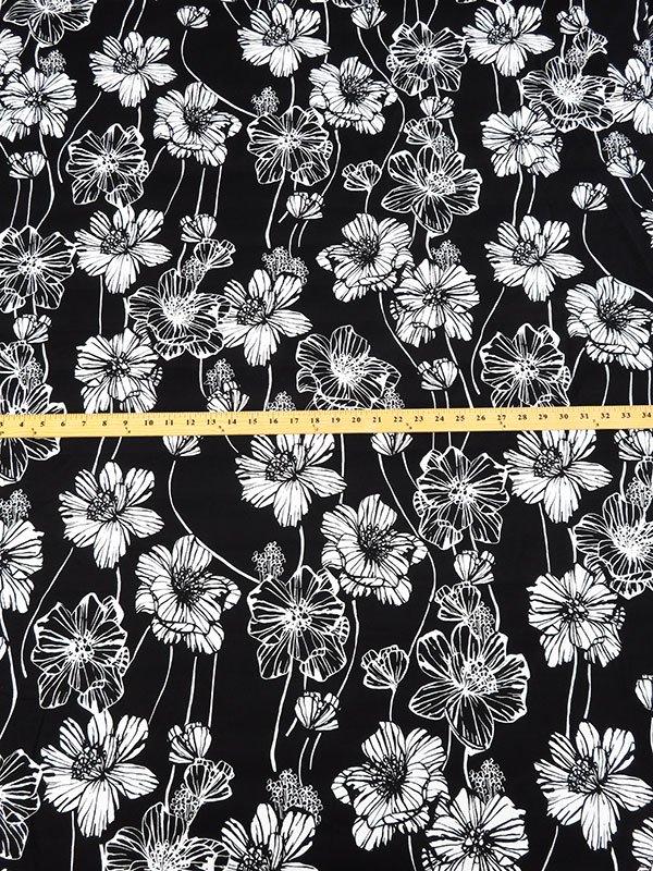Designer Floral Poplin Shirting