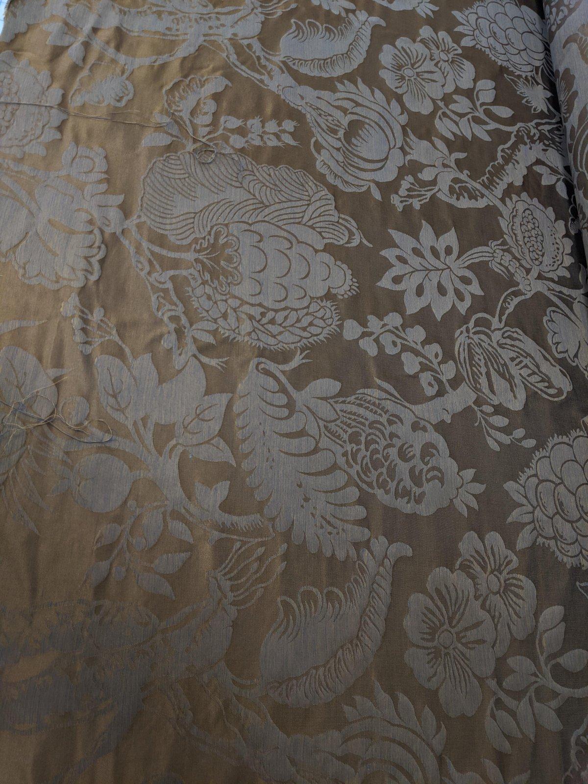 Floral Embossed Silk Jacquard