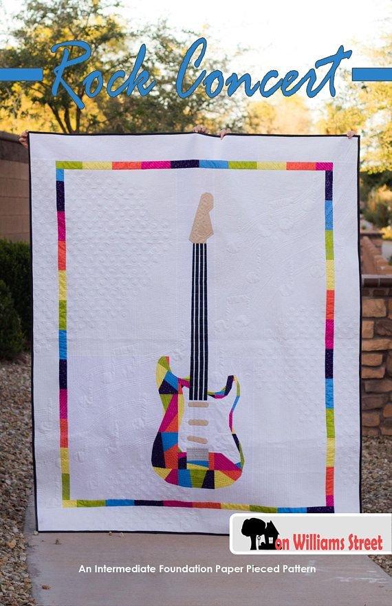 Rock Concert Quilt Pattern