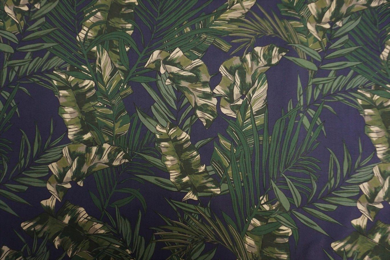 Lady McElroy Cotton Lawn - Saniago Leaf