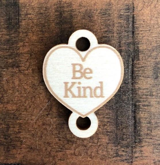 Birch Wood Garment Tag - Be Kind