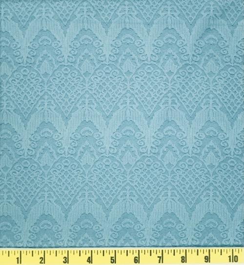 JACQUARD SHERI SLATE BLUE