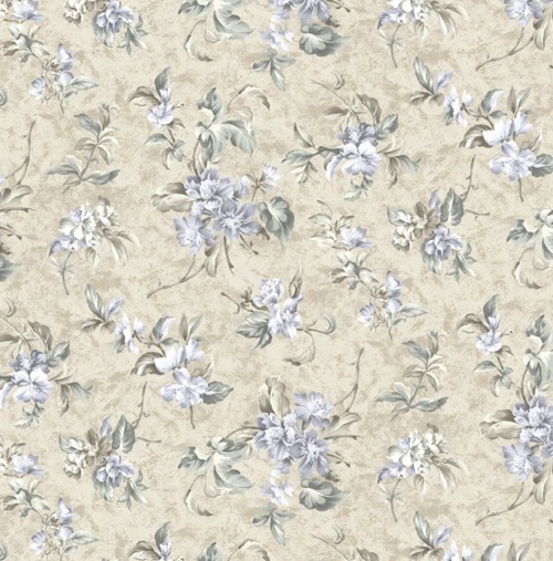 Serenity - Floral Taupe