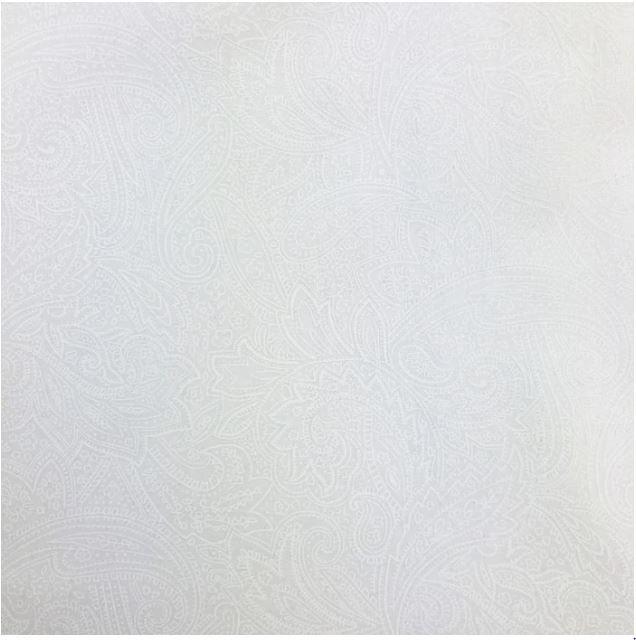 108 ANTIQUE PAISLEY WHITE