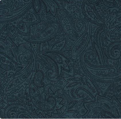108 ANTIQUE PAISLEY BLUE