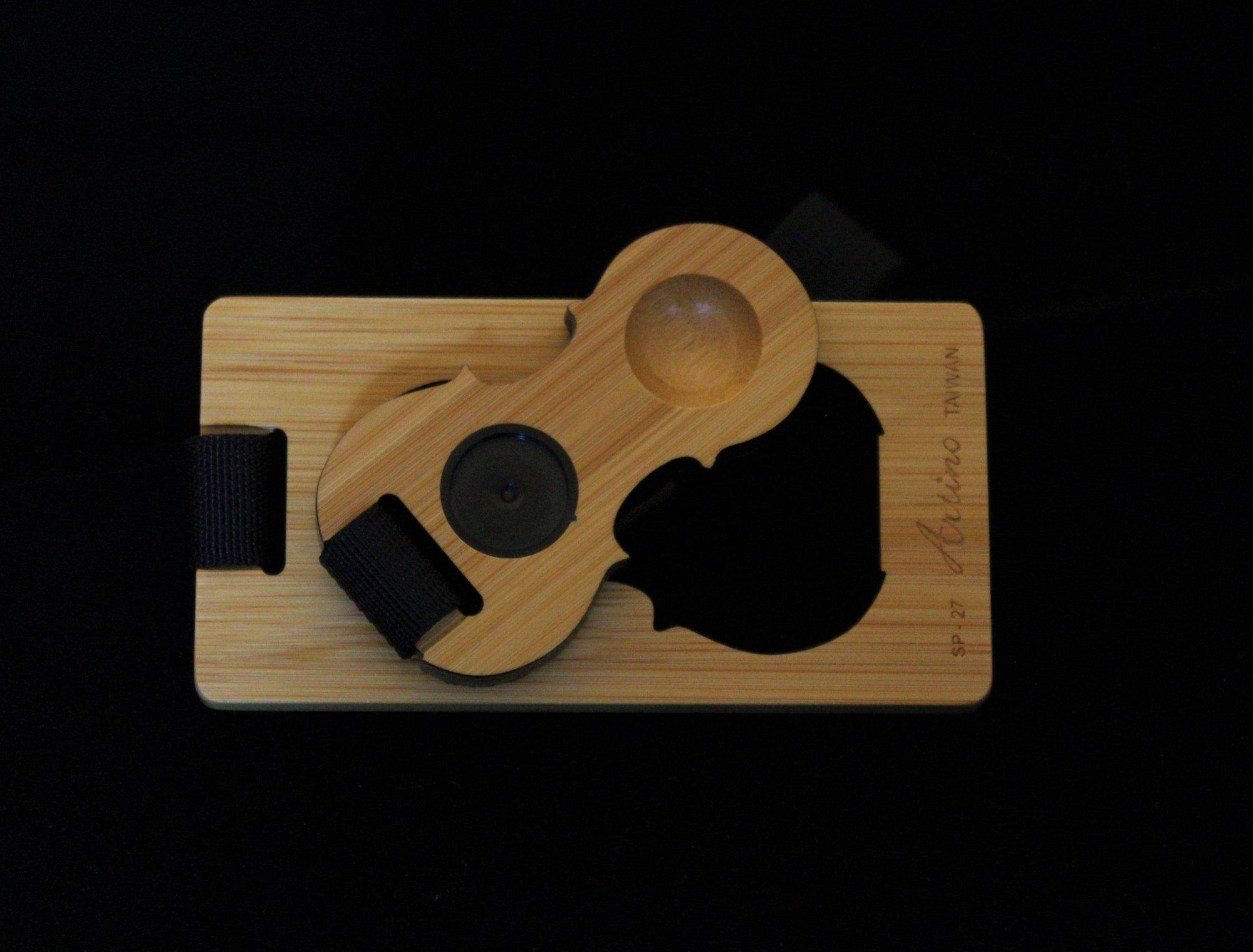 Artino Compact Bamboo Cello Rockstop w/ Adjustable Strap