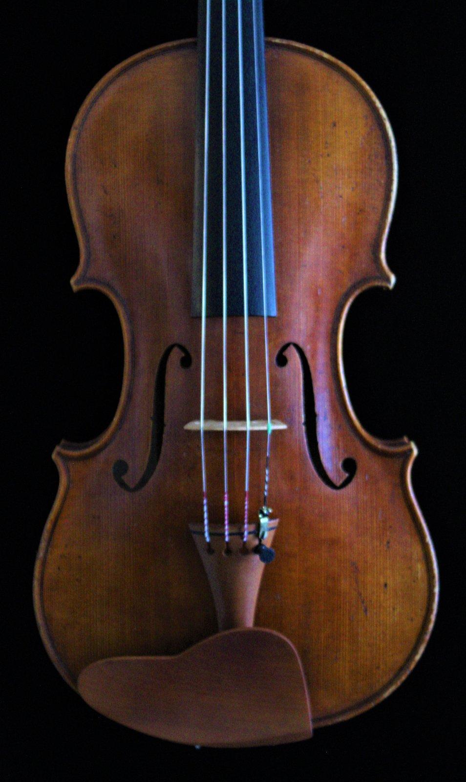 Violin Labeled Mathias Hornsteiner