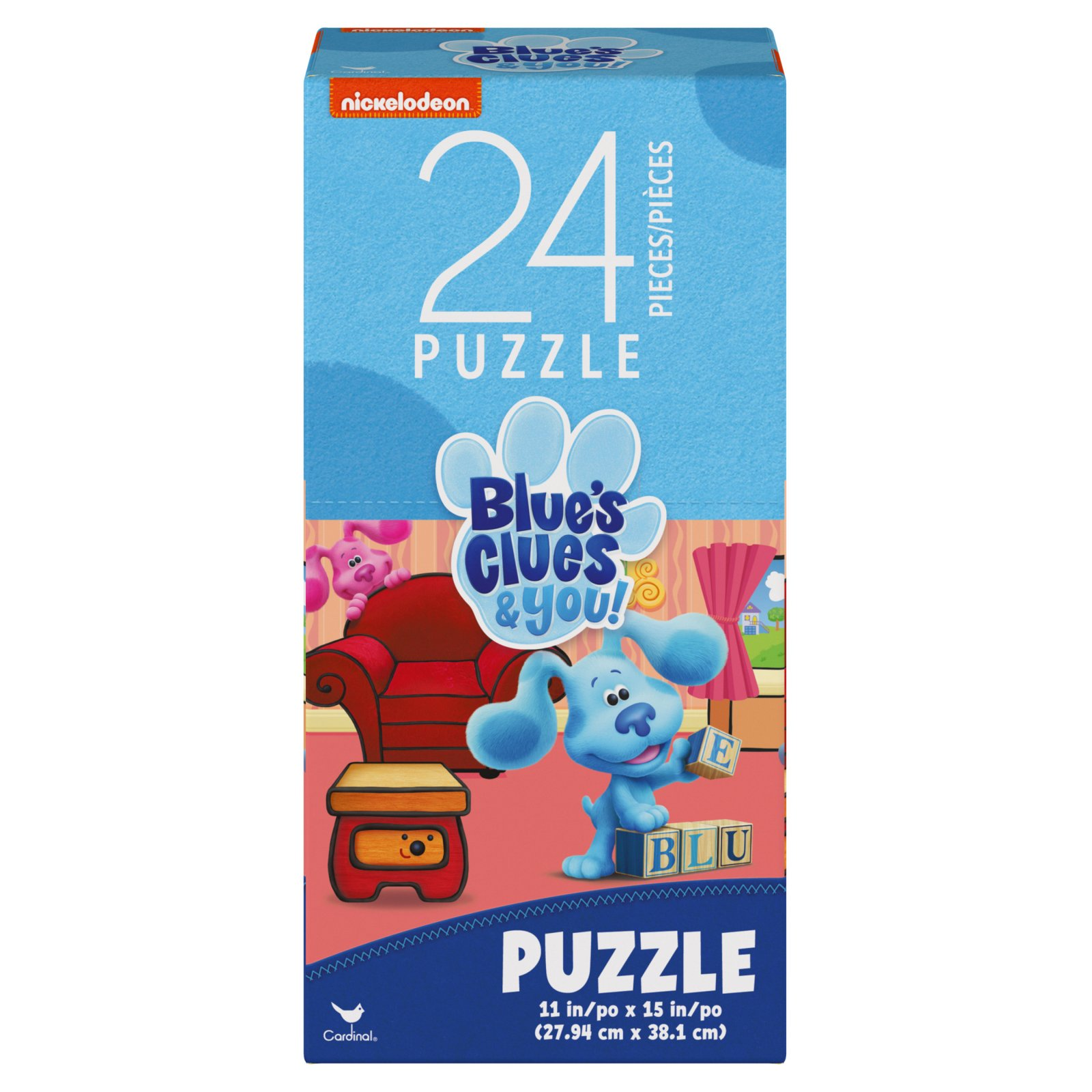Nickelodeon Blue's Clues & You 24 Puzzle