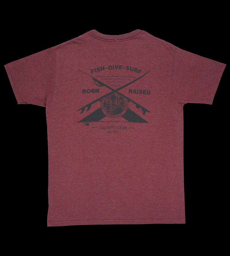Salinity Fish/Dive/Surf  Short Sleeve T-Shirt
