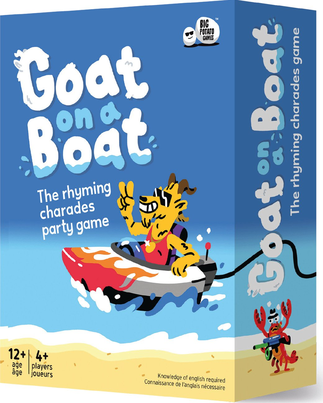 Goat on a Boat Rhyming Game