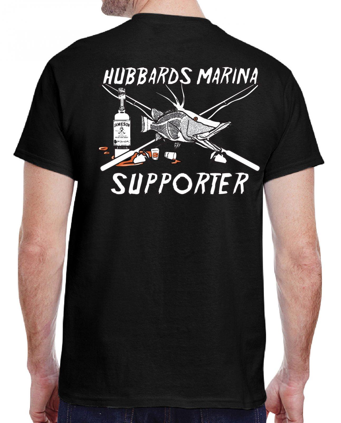 Hubbard's Marina Supporter's T-Shirt