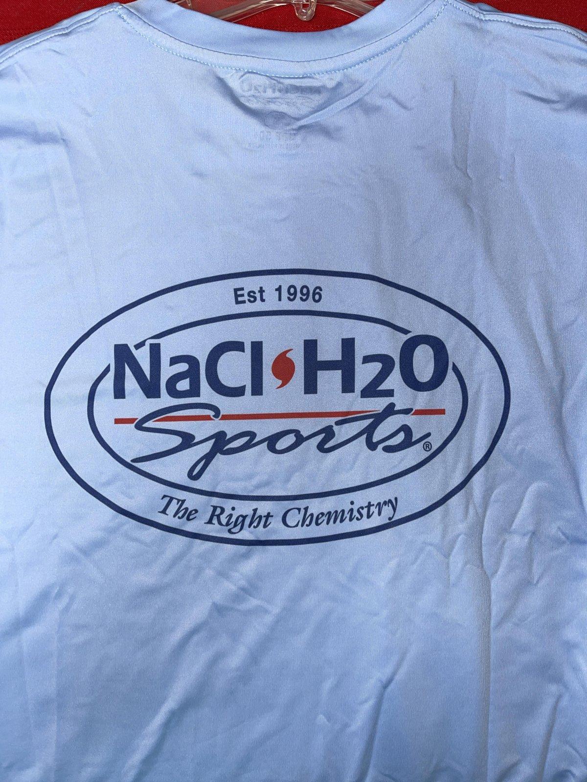 NaCl H2O Sports Logo Long Sleeve Performance