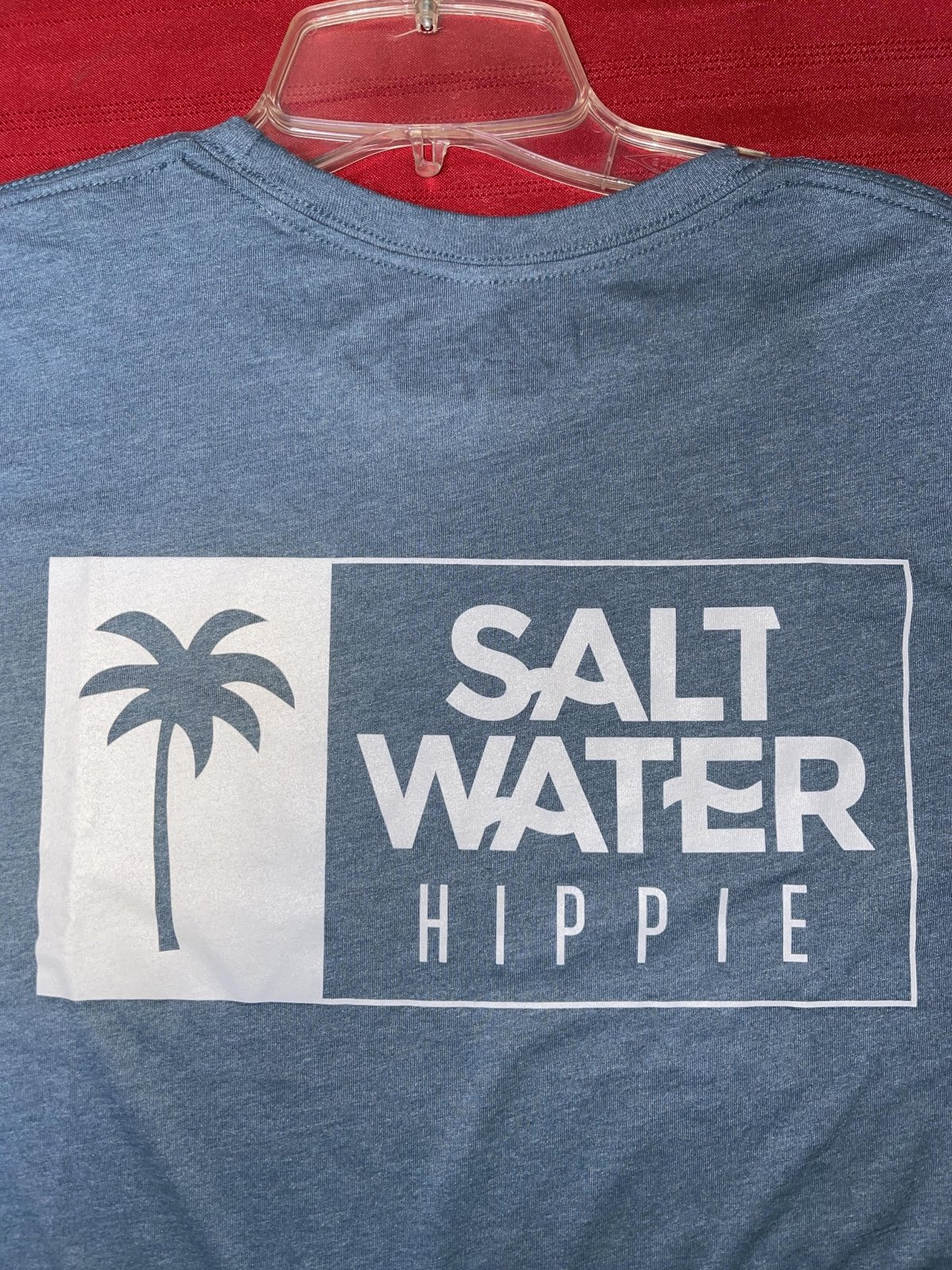 Saltwater Hippie Square Back Logo Long Sleeve T-Shirt