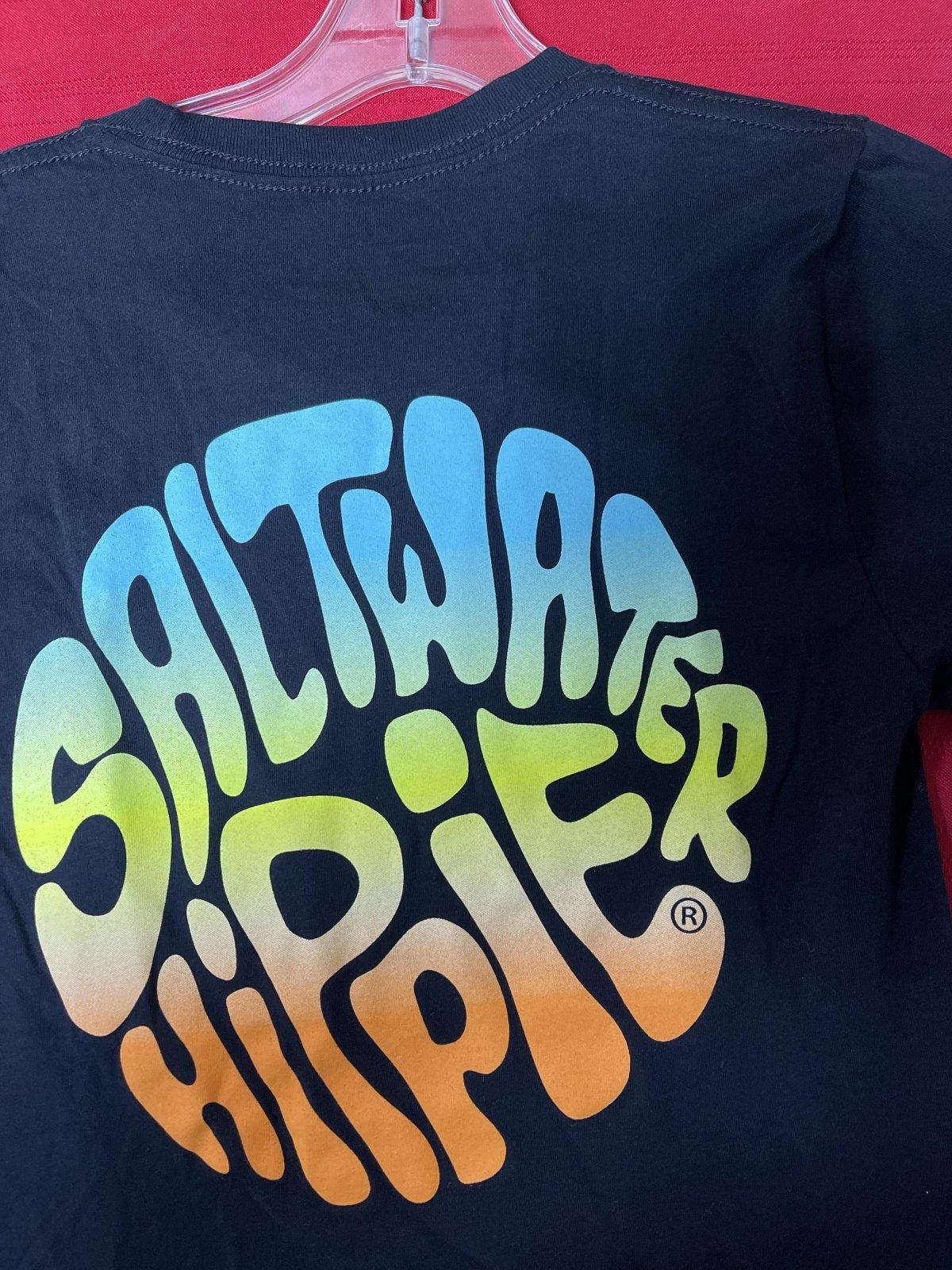 Saltwater Hippie Trippie Hippie Short Sleeve T-Shirt