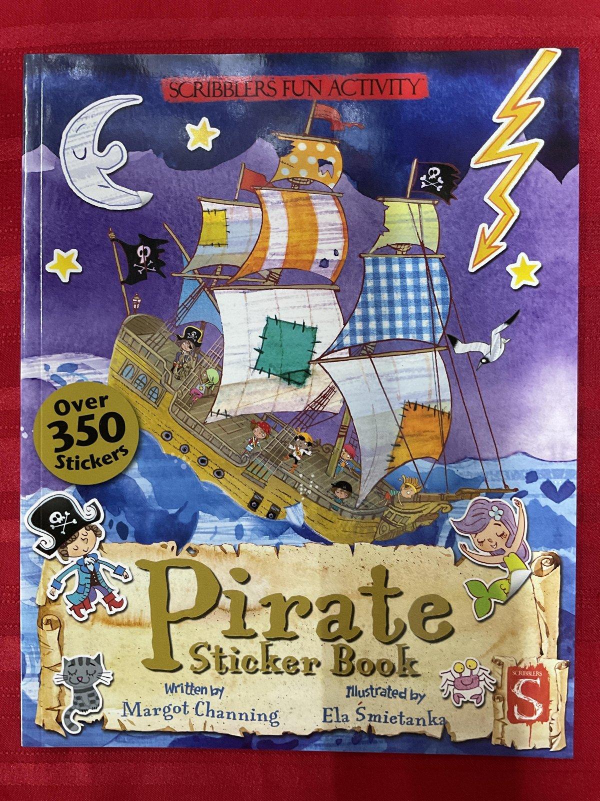 Book Pirate Sticker Book