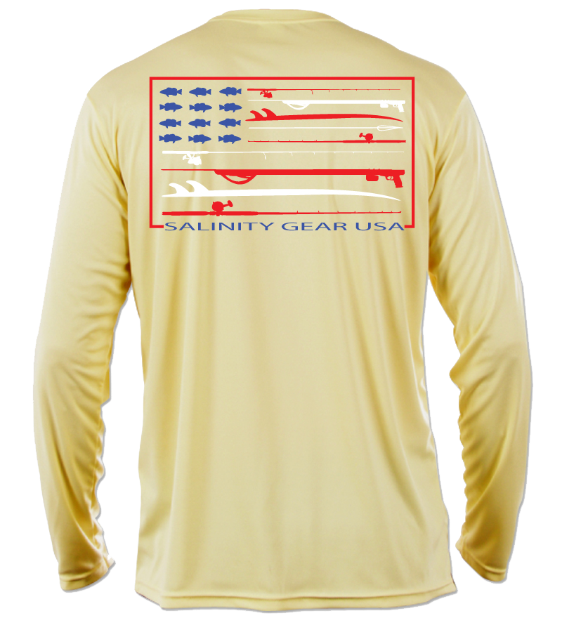 Salinity American Flag Performance Shirt