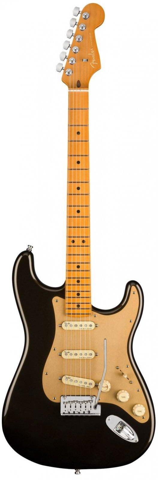 Fender 0118012790 American Ultra Stratocaster, Maple Fingerboard - Texas Tea