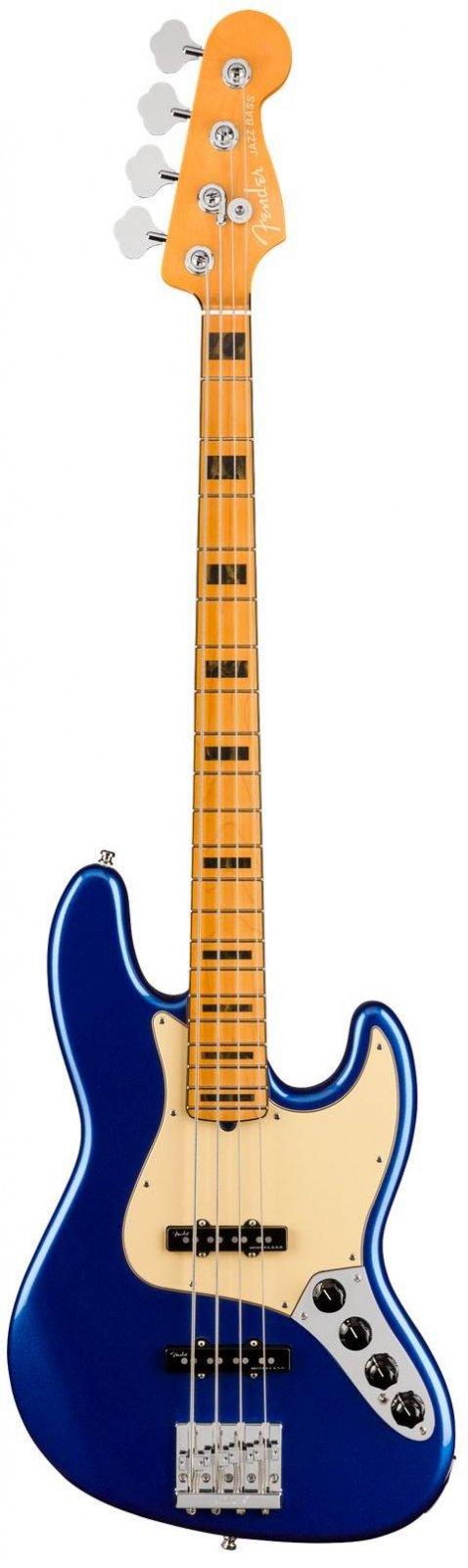 Fender 0199022795 American Ultra Jazz Bass with Maple Fretboard - Cobra Blue