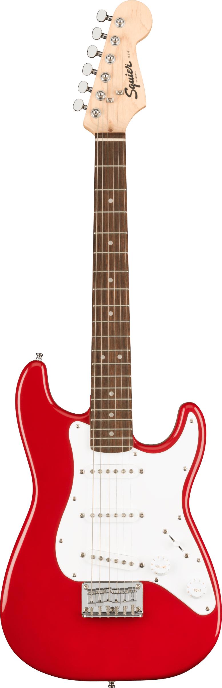 Squier Mini Stratocaster, Laurel Fingerboard - Dakota Red