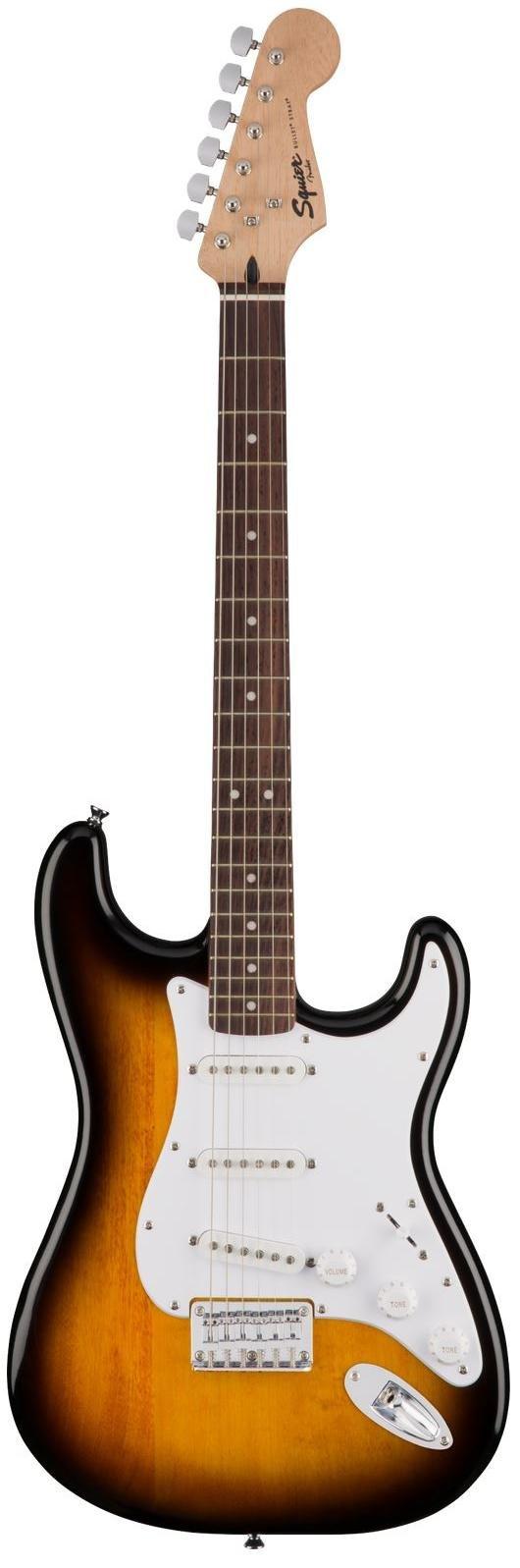 Squier Bullet Stratocaster HT, Laurel Fingerboard - Brown Sunburst