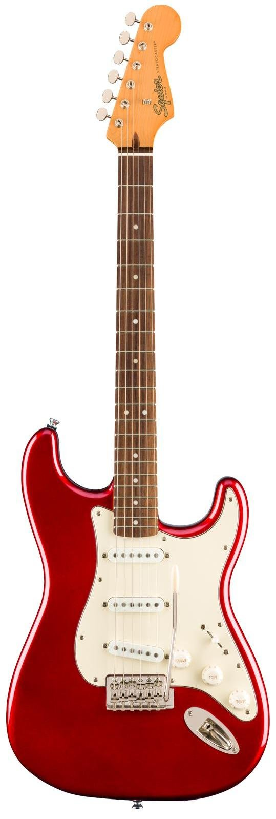 Squier Classic Vibe '60s Stratocaster, Laurel Fingerboard - Candy Apple