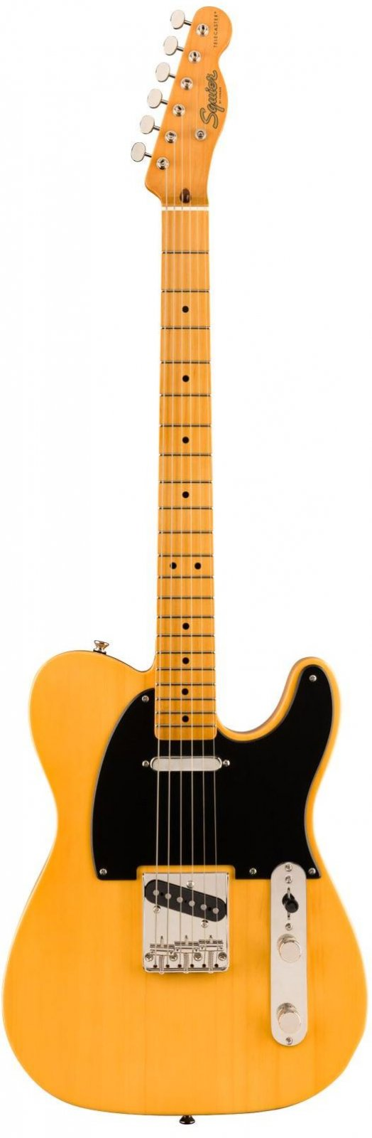Squier 0374030550 Classic Vibe '50s Telecaster, Maple Fingerboard - Butterscotch Blonde