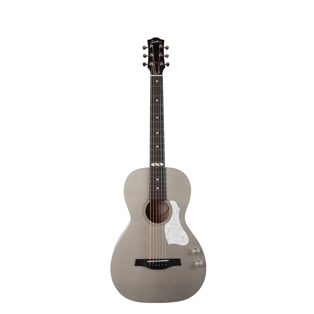 Godin Rialto JR HG Q-Discrete Acoustic Guitar - Satina Gray