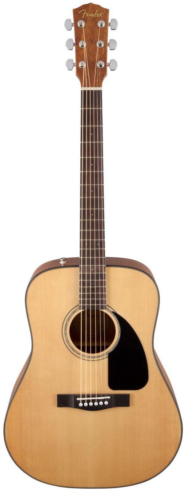 Fender CD-60 Dreadnought V3 w/Case, Walnut Fingerboard - Natural