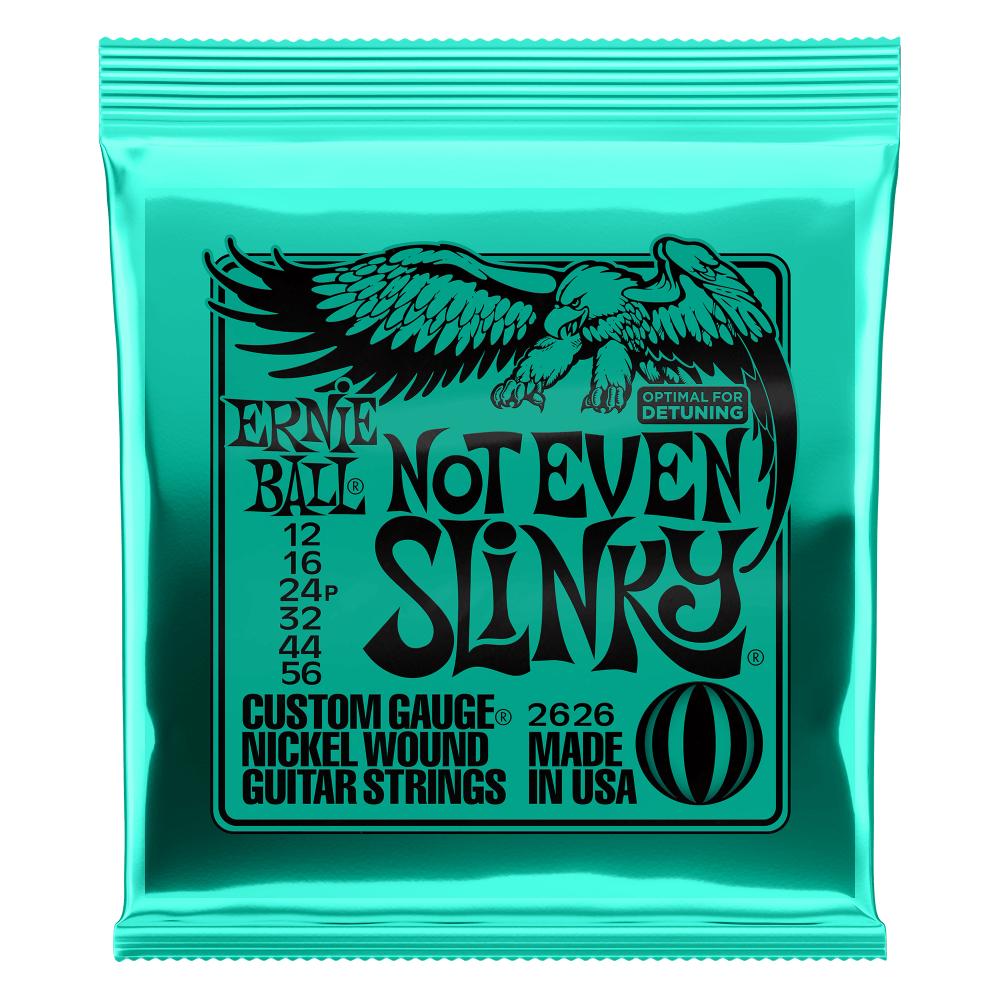 Ernie Ball P02626 Not Even Slinky Nickel Wound Electric Guitar Strings - 12-56 Gauge