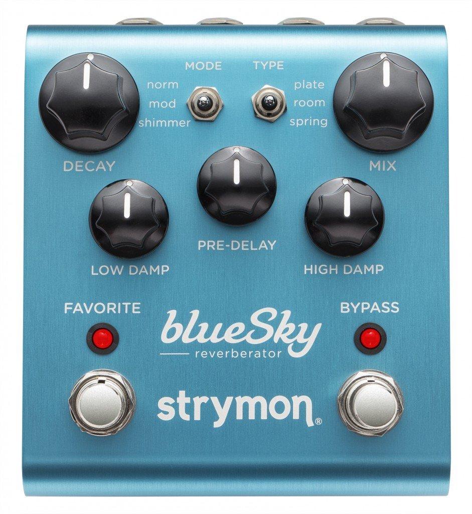 Strymon Bluesky Reverberator Guitar Effect Pedal