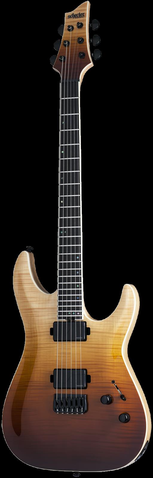 Schecter C-1 SLS Elite Electric Guitar - Antique Fade Burst