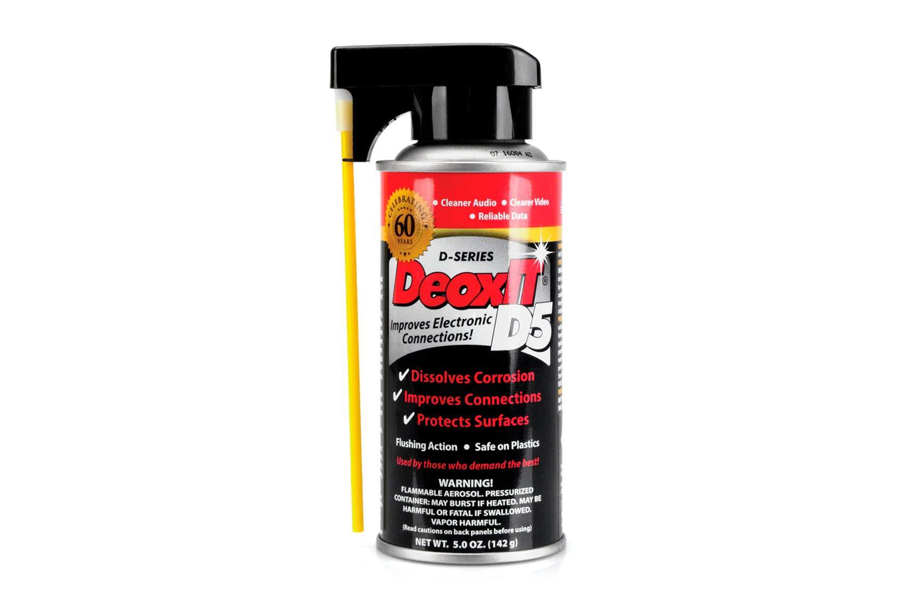 Hosa CAIG DeoxIT Contact Cleaner 5% Spray  5 oz