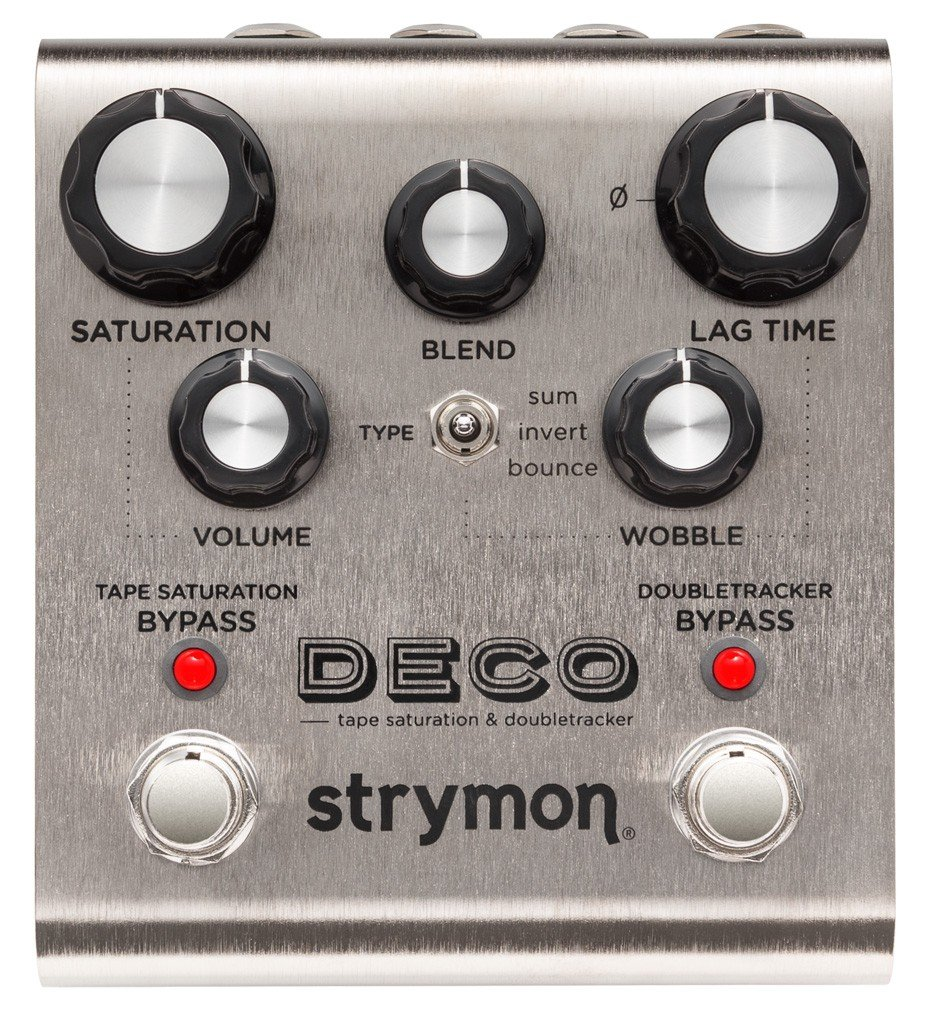 Strymon Deco Tape Saturation & Doubletracker Guitar Effects Pedal