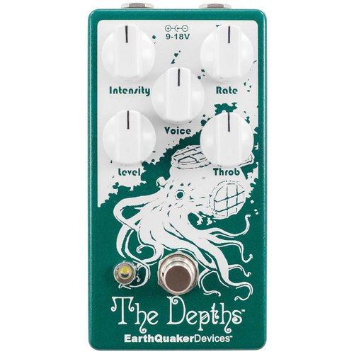 EarthQuaker Devices The Depths Optical Vibe Machine V2