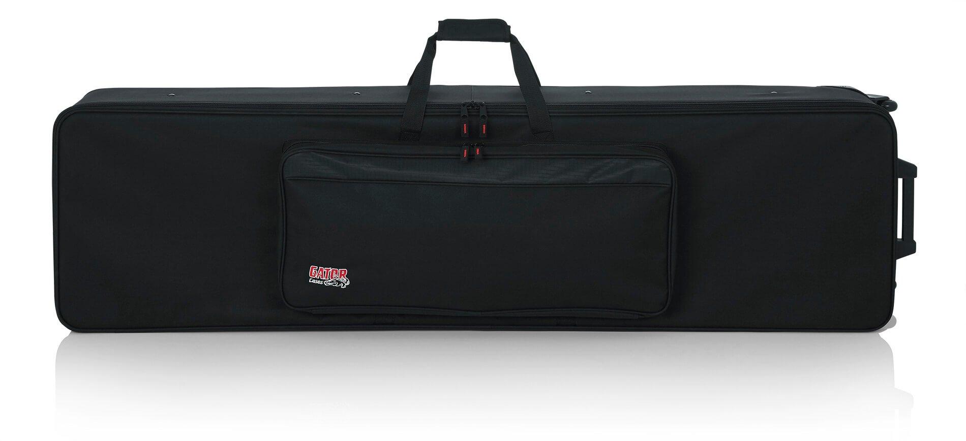 Gator GK-88 SLXL Rigid Lightweight Case w/ Wheels for Slim, Extra long 88 Note Keyboards