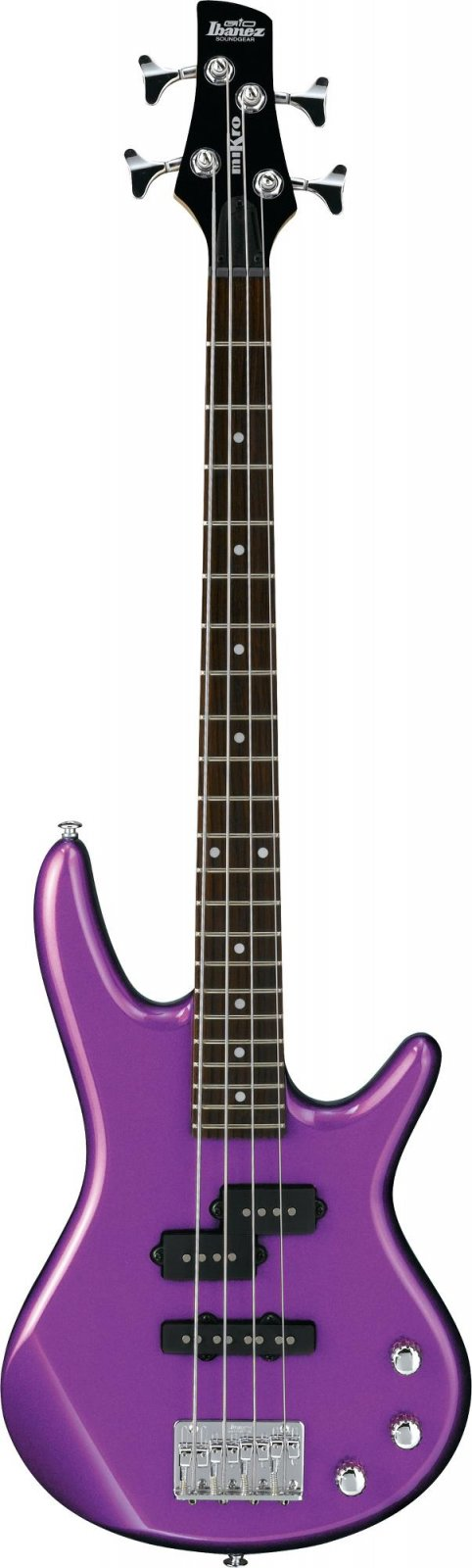 Ibanez GSRM20MPL Gio SR miKro Short Scale 4str Electric Bass - Metallic Purple