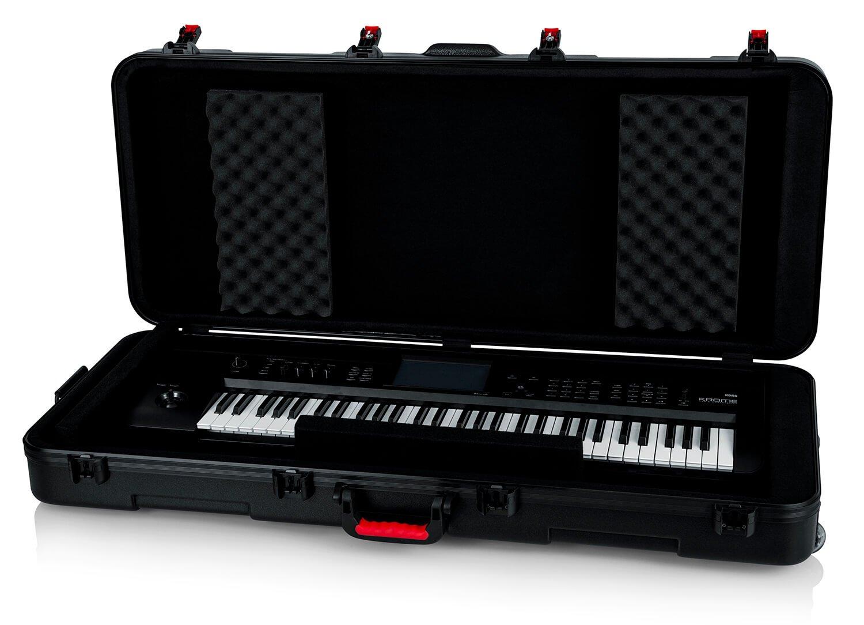Gator GTSA-KEY61 61-Note Keyboard Case W/ Wheels