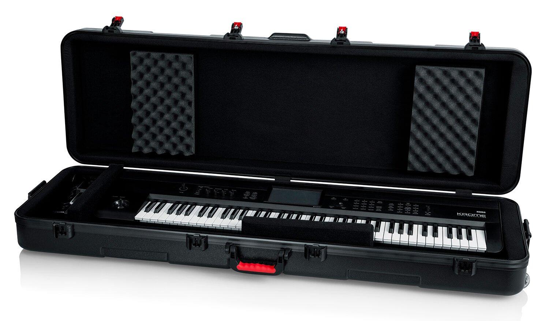 Gator GTSA-KEY88SL Slim 88-Note Keyboard Case W/ Wheels