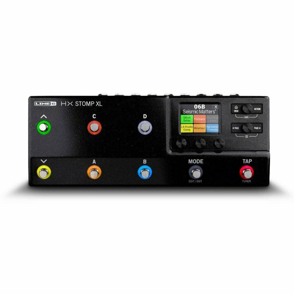 Line 6 HX Stomp XL Compact Amp & Effects Processor