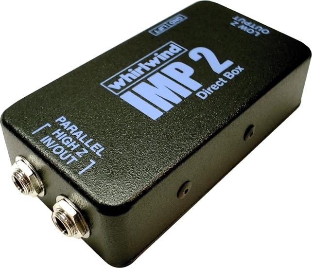 Whirlwind IMP 2 Professional Quality Passive Direct Box