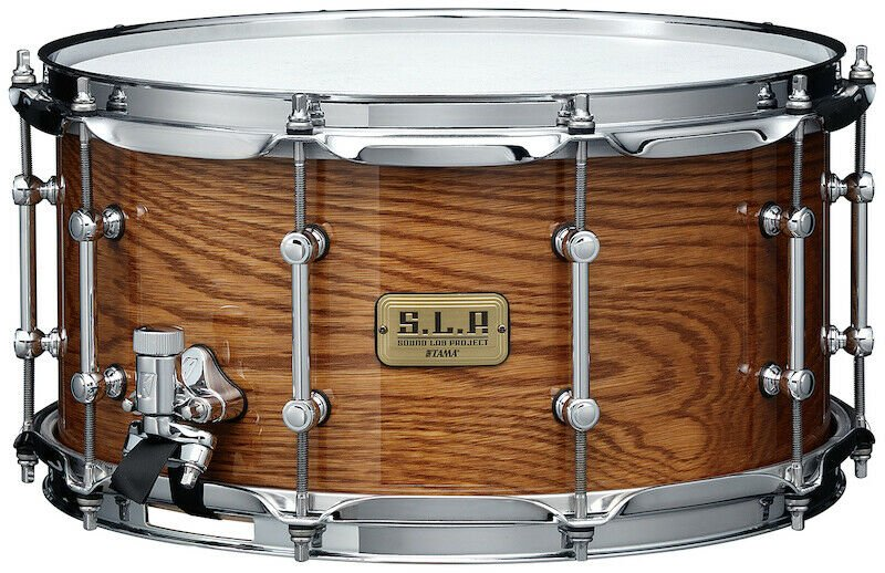 Tama S.L.P. 14x7 Limited G-Maple Snare Drum - Gloss Tawny Oak