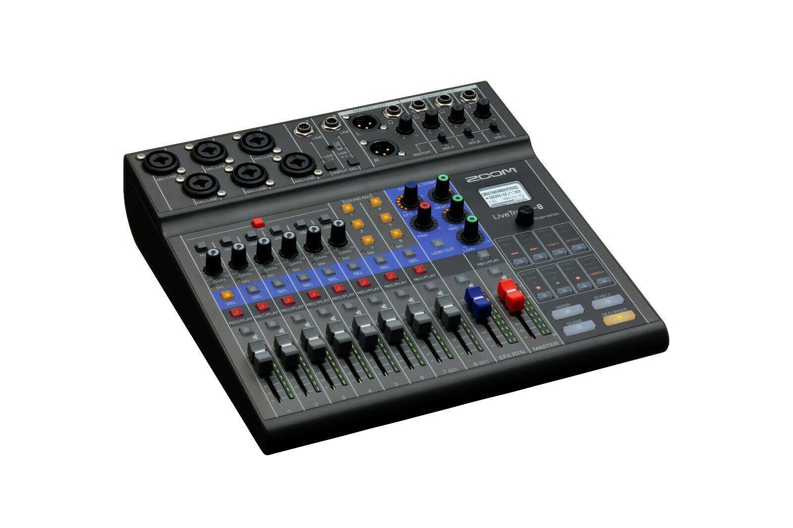 Zoom LiveTrak L-8 Digital Mixer/Recorder